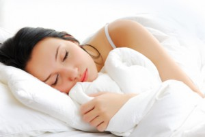 Woman-Sleeping-Comfortably